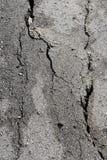 Lightning cracked asphalt Royalty Free Stock Images