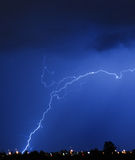 Lightning Crackle! Stock Photography