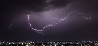 Lightning! Royalty Free Stock Photos