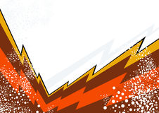 Lightning Design Background Stock Photo