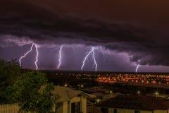 Lightning Fest Stock Image