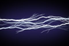 Lightning Field Royalty Free Stock Image