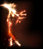 Lightning flash background Stock Photography
