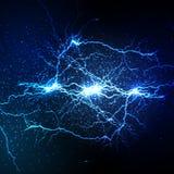Lightning flash strike background Stock Image