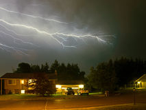 Lightning Flashes Stock Image