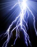 Lightning flashes Royalty Free Stock Photo