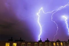 Lightning flashes Royalty Free Stock Images