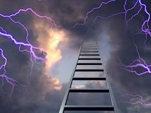 Ladder to the sky Stock Photos