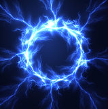 Lightning frame vector background. Eps10. Royalty Free Stock Photos