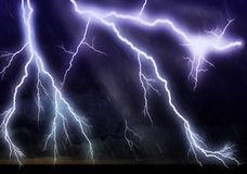 Lightning galore Stock Photography