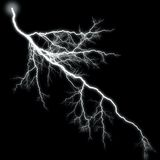 Lightning High Branching Royalty Free Stock Photo