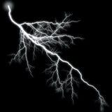Lightning High Branching. Little Flash Little Glow Light Royalty Free Stock Photo