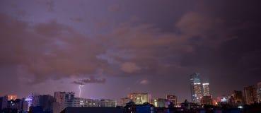Lightning on the Horizon Royalty Free Stock Image
