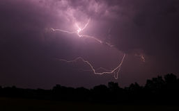 Lightning in July-2 Stock Images