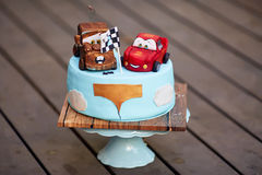 Lightning Mcqueen baby cakes Royalty Free Stock Photo