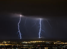 lightning mothership Στοκ Εικόνα