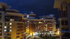 Lightning In The Night City Apartments