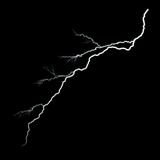 Lightning No Glow Royalty Free Stock Photography