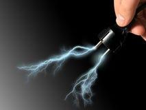 Lightning. Royalty Free Stock Photography