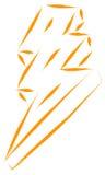 Lightning power  Stock Images