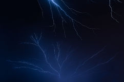 Lightning Shock and Awe Royalty Free Stock Images
