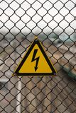 Lightning sign Stock Images