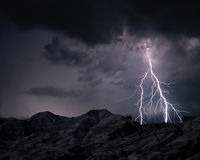 Lightning in sky Royalty Free Stock Image