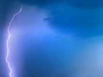 Lightning in the sky Stock Photo