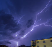Lightning sky Royalty Free Stock Image