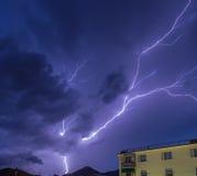 Lightning sky Royalty Free Stock Image