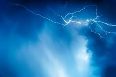 Lightning royalty free stock image