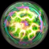 Lightning sphere Royalty Free Stock Image