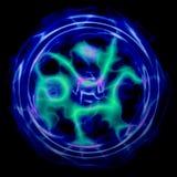 Lightning sphere Royalty Free Stock Photos