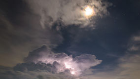 Lightning with the Stars Stock Images