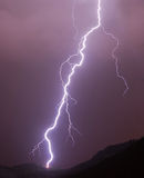 Lightning in a storm Stock Photos