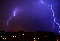 Lightning storm Royalty Free Stock Photography
