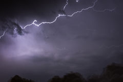 Lightning Storm Royalty Free Stock Photo