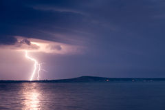 A Lightning Storm Stock Photography