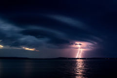 A Lightning Storm Stock Photos