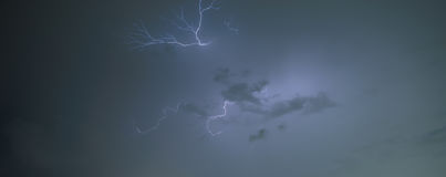 Lightning storm Royalty Free Stock Photography