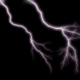 Lightning streaks 3 Royalty Free Stock Images