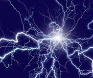 Lightning strike royalty free stock image