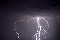 Lightning Strike Royalty Free Stock Image