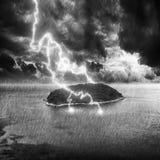 Lightning strike Stock Photos