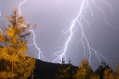 Lightning Strike Royalty Free Stock Photography