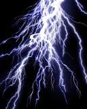 Lightning strike Stock Images