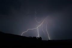 Lightning strike 6 Royalty Free Stock Photos