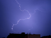 Lightning strike Stock Photography