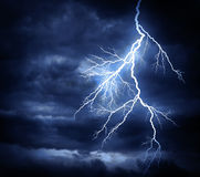 Lightning strike Stock Image
