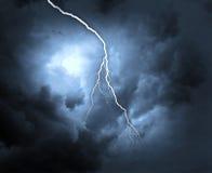 Lightning strike Royalty Free Stock Photos